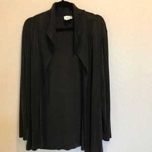 Chico's Travelers size 3 blazer jacket black